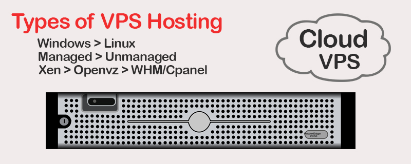Types of VPS Hosting