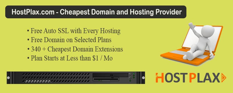 Cheapest Domain and Hosting