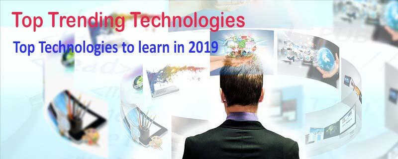 top trending technologies