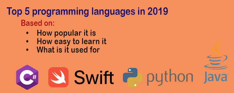 top programming languages of 2019